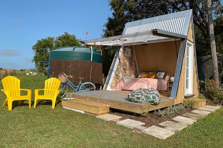 Quirky A-Frame Cabin
