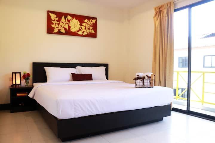 A Standard Double Room, 15 mn near the beach