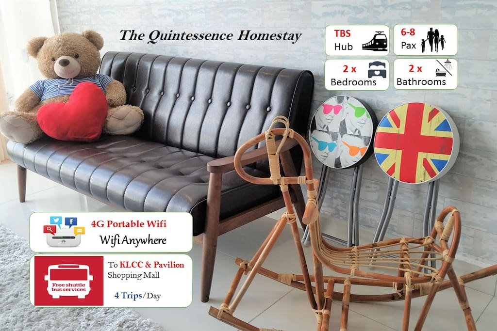 Welcome to The Quintessence Homestay!