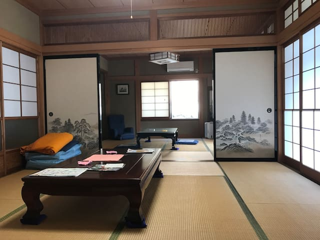 Beautiful house near Mt. Mitoku and Misasa Onsen