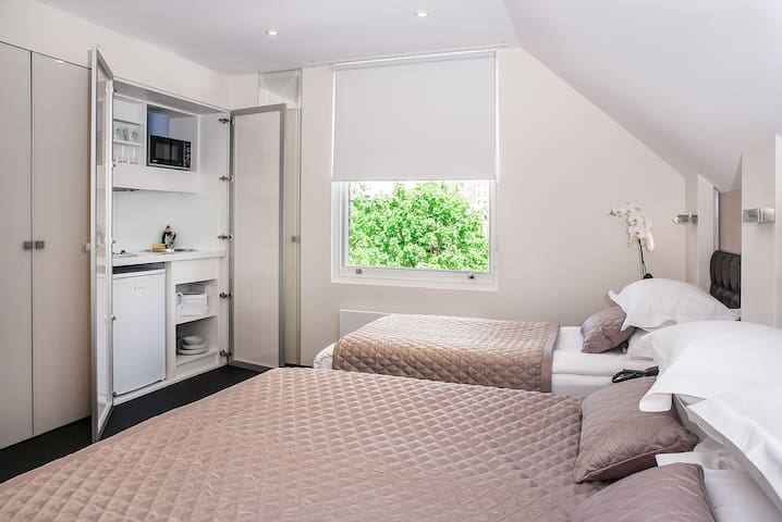 Apartment for 3 guests in Kensington
