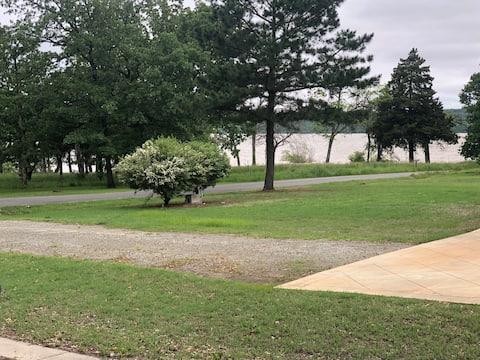 Location Location Location on Lake Eufaula OK.