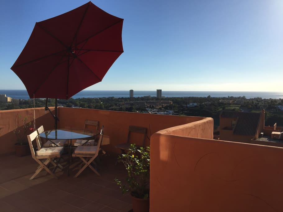Afternoon panoramic view