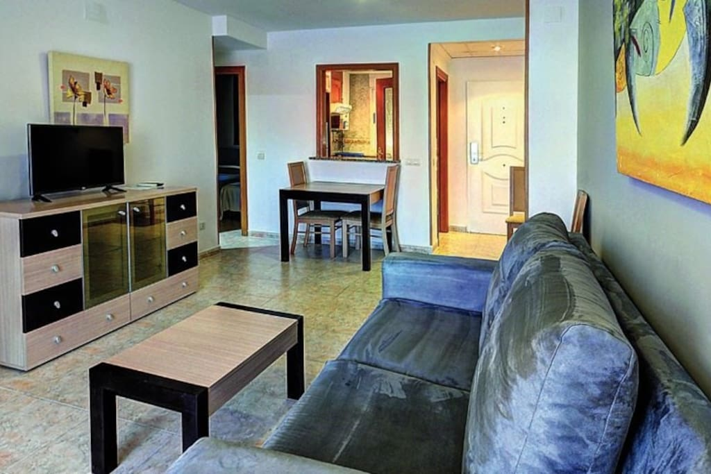 The 2 Bedroom Apartment is warm and inviting and features a private balcony