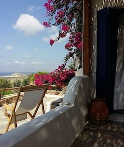 Naxos Secluded Villa with Breathtaking Views - Kastraki - 别墅