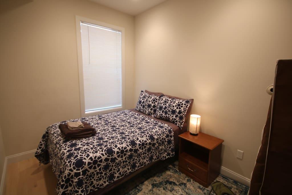Ultra-comfortable mattress and plush pillows