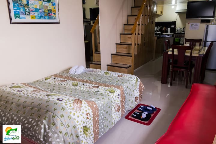 Seaview Furnished Loft in Jagna with WiFi