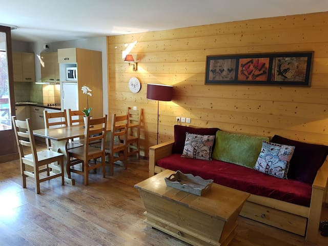 High Quality Alpine Apartment in Heart of the Alps - Brides-les-Bains - Departamento