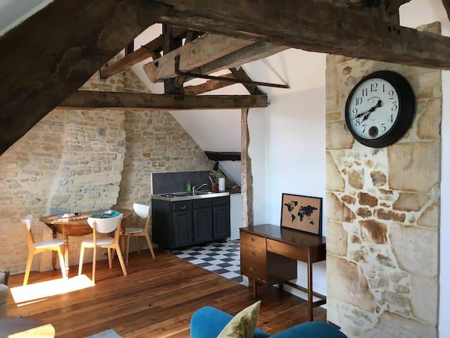 Bayeux centre, ancien hôtel particulier 18ième