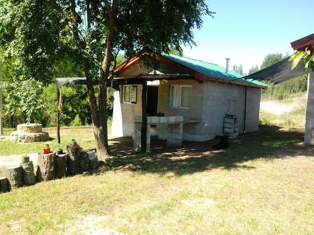 Cabaña equipada full Villa Yacanto 2 a 4 personas