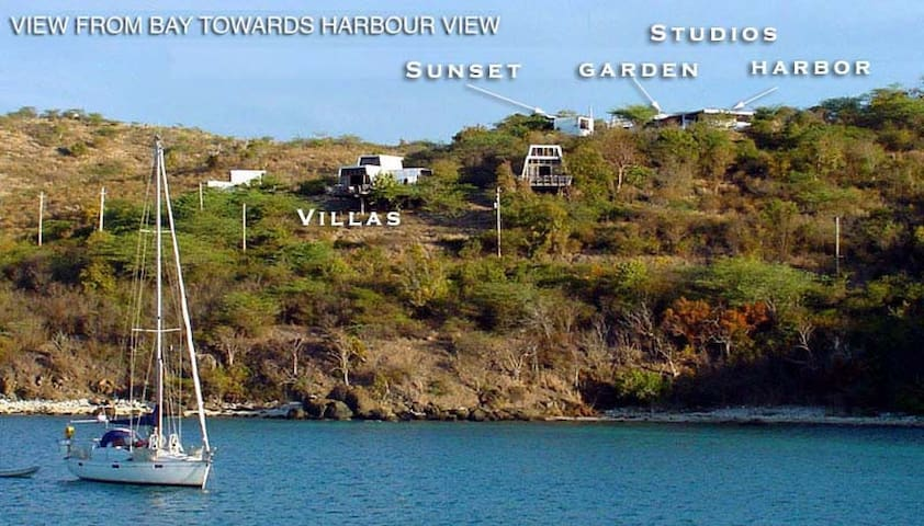 Harbour View Garden Studio - Culebra - Квартира