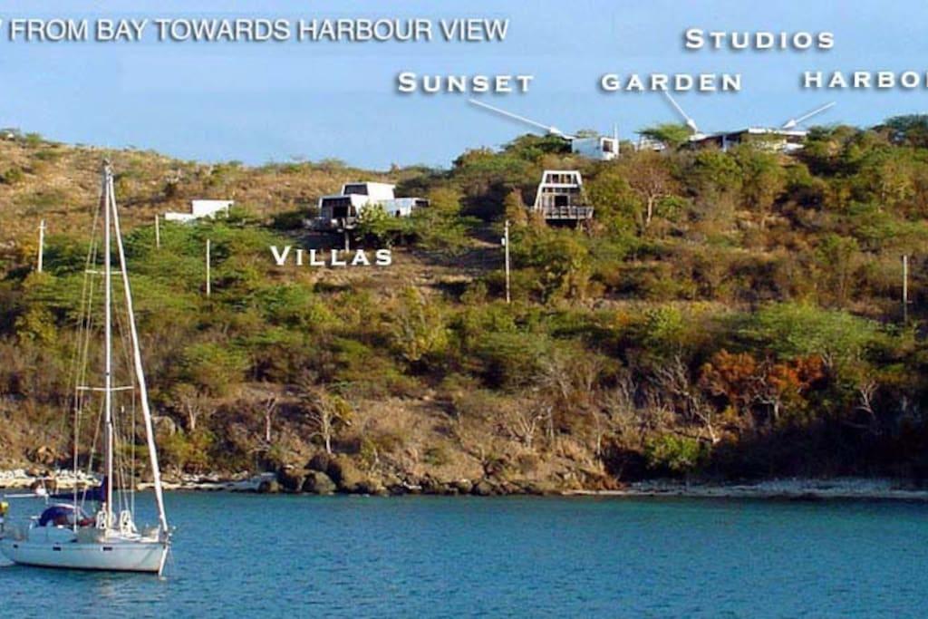 Harbour View Garden Studio Apartments For Rent In
