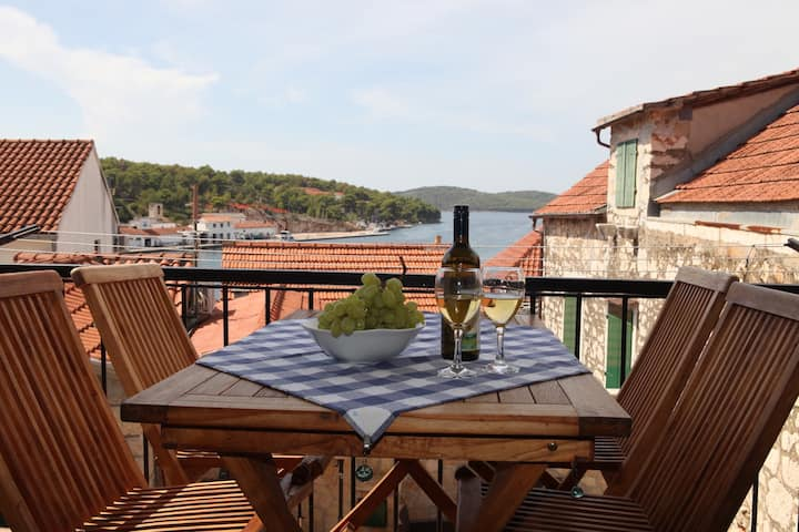 Apartment in Milna on Brac, Croatia