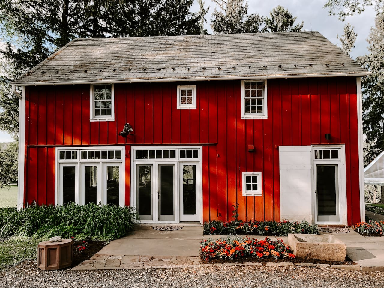 Hopeland Farm Red House