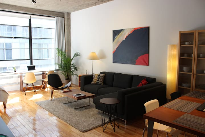 Amazing Location Cool Downtown Loft - Montréal - Loft