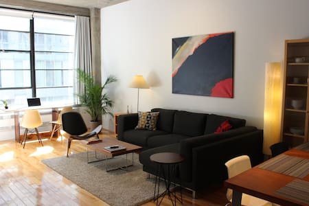 Amazing Location Cool Downtown Loft - Montréal - Loft-asunto