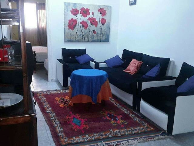 Fully Furnished flat   in  Center
