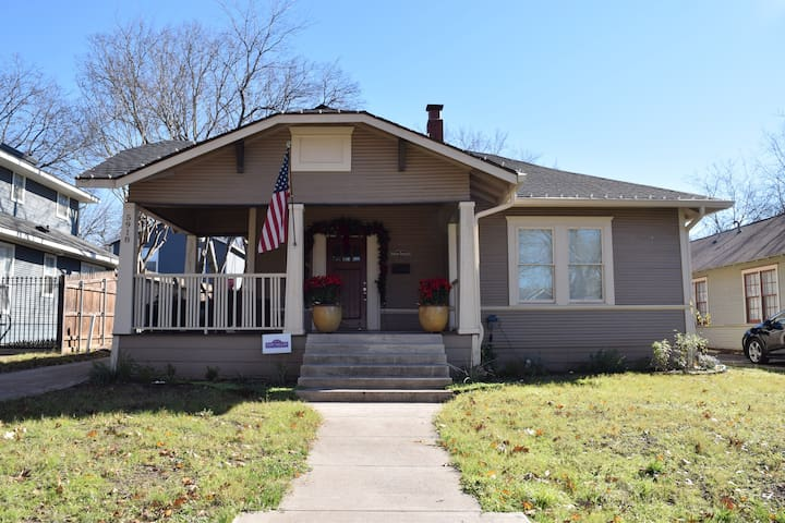 Renovated Craftsman in Historic Hood -Pet Friendly