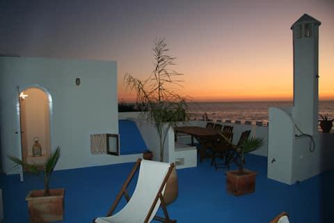 Maison avec terrasses et vue sur la mer à Asilah-6