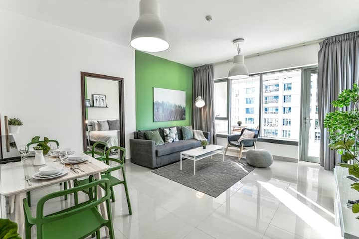 Evergreen {Ease by Emaar} | Stylish One Bedroom
