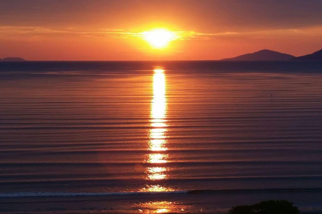 Nascer do sol inigualável!!!