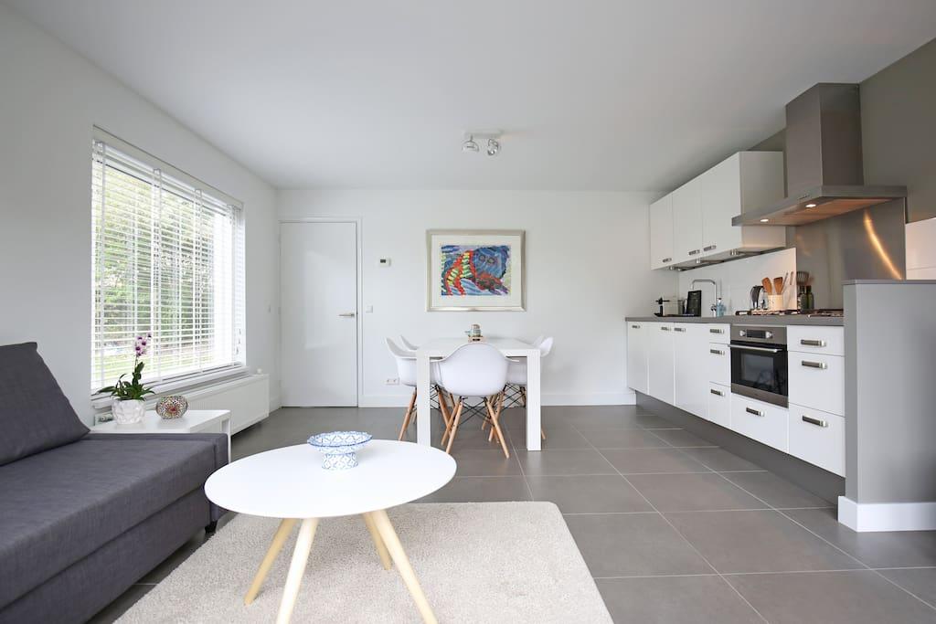 Huiskamer, keuken