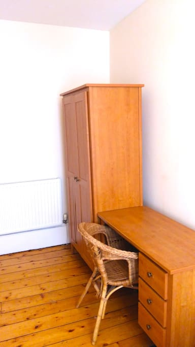 Available Double Bedroom - Desk Space and Wardrobe