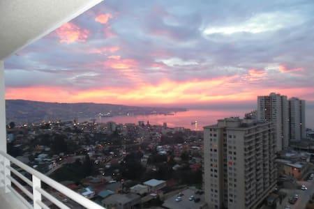 Depto Valparaiso maravillosa vista - Valparaiso