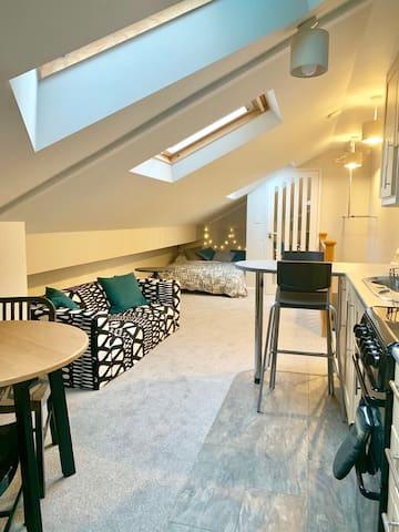 Stunning Studio Flat in Westbury-on-Trym, BS9