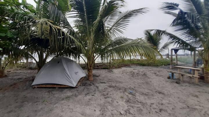 Eco Camping hermosa vista tranquilidad Playa Surf