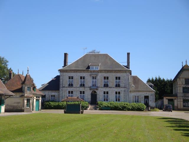 haras au centre de Blingel avec piscine intérieure - Blingel - House