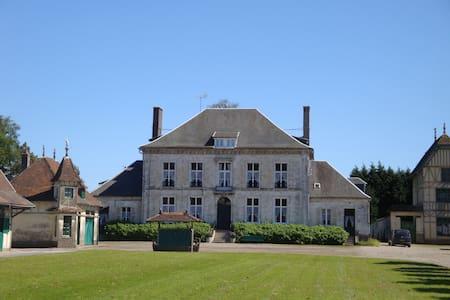 haras au centre de Blingel avec piscine intérieure - Blingel - Huis