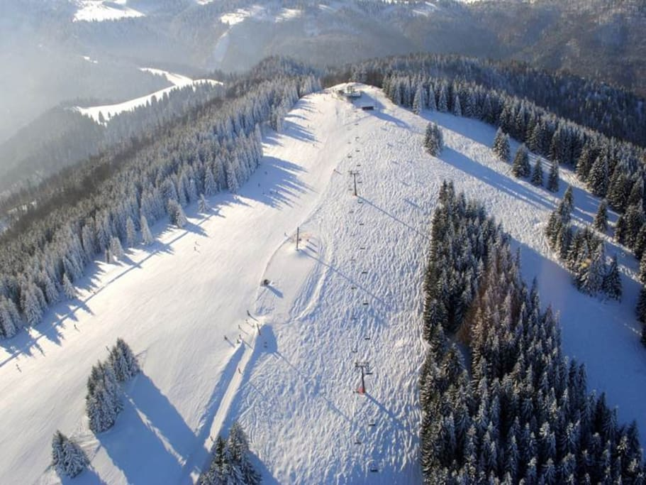 Ski Park Malinô Brdo is only 5 km far from our place. Due to our good location you can hop on SKI bus which will take you to cabin cableway heading to Malinô ski center. Visit their webpage: www.skipark.sk