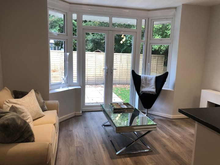Brand new two bedroom flat with private garden
