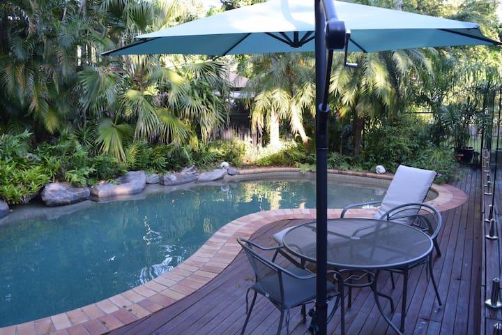 Tropical pool.