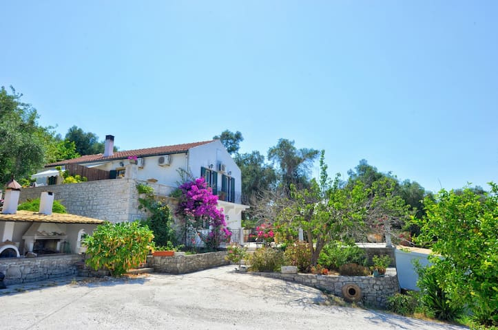 Ianira Villa With Amazing Seaview of Paxos