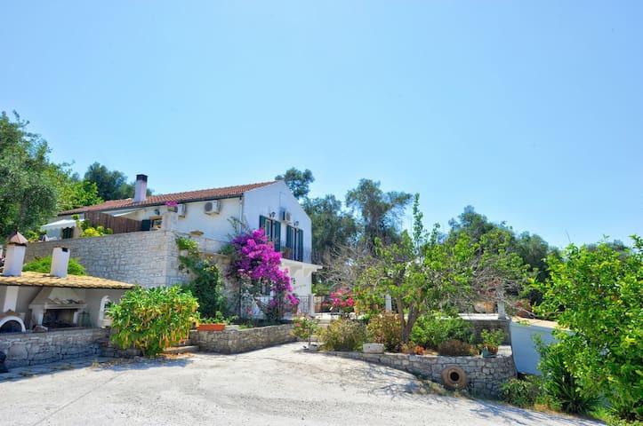 Ianira Villa With Amazing Seaview of Paxos