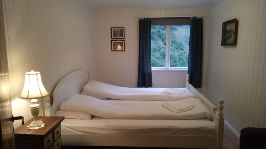 Room 3, with a king size bed