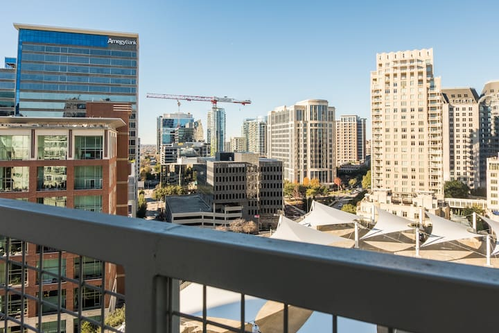 Amazing Views @ High-Rise Lux | Center of All 1BR