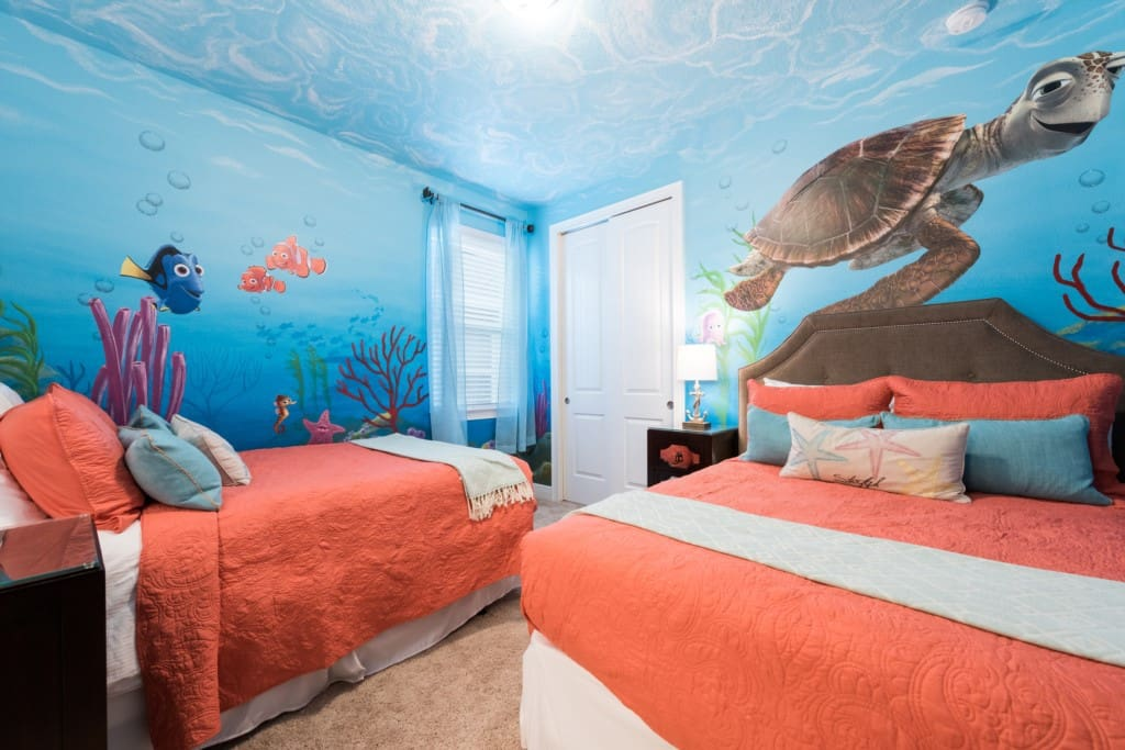 Finding Nemo Themed Bedroom