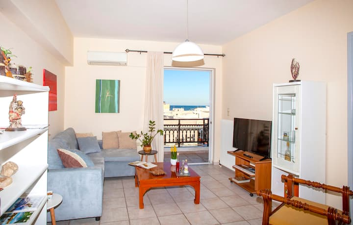 City & beach apartment in Rethymno