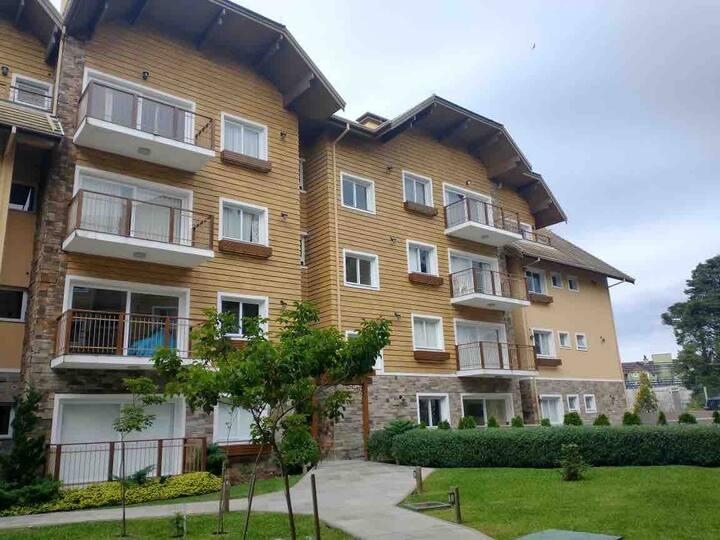Apartamento com 1 Dormitório Gramado RS .1 garagem