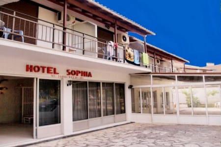 HOTEL SOPHIA room  no3 - คอร์ฟู - ที่พักพร้อมอาหารเช้า