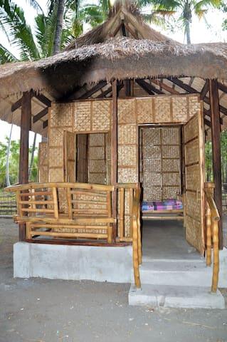Native Hut In Sablayan Paraiso Beach Resort