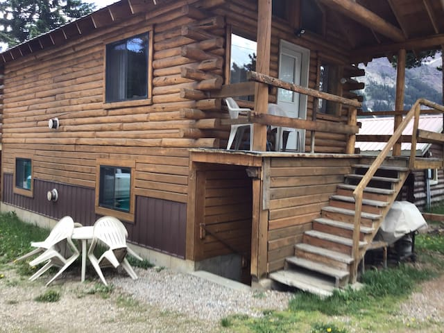 Cabin in the heart of the Beartooth Mountains#1