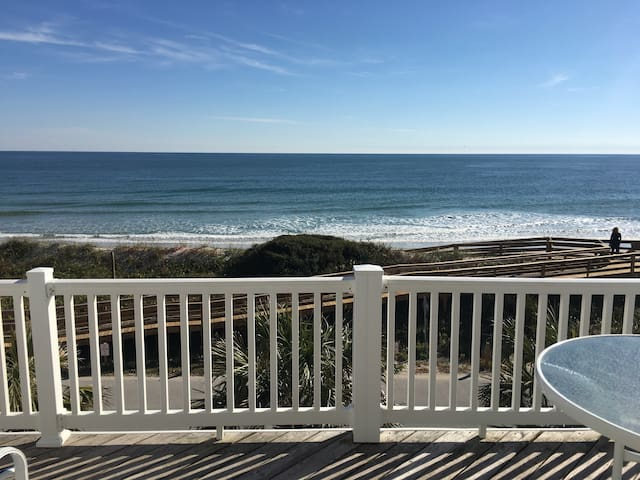 Beach Front Paradise with Elevator - Surf City