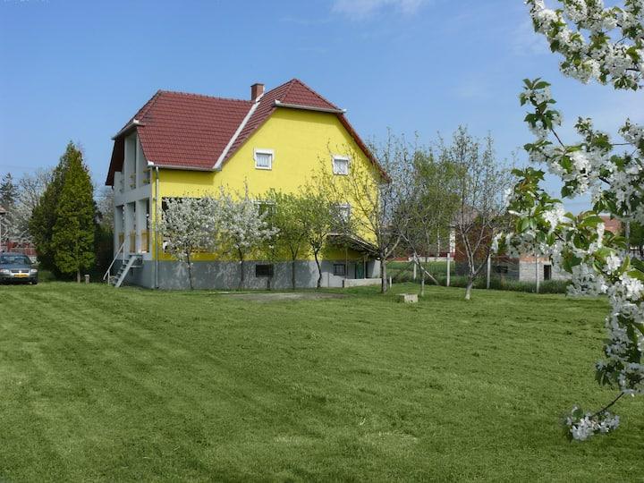 In Szentistván a spacious house / een ruim huis
