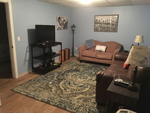 Cozy Riverhead basement apartment w/ private ent.