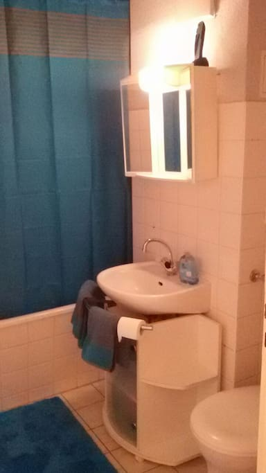 Badezimmer/Bathroom  Mit Badewanne/Dusche
