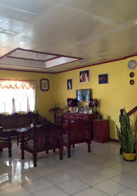 Living room downstairs by entrance
